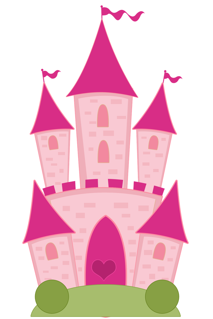 Princesas e pr ncipes. Trail clipart path windy