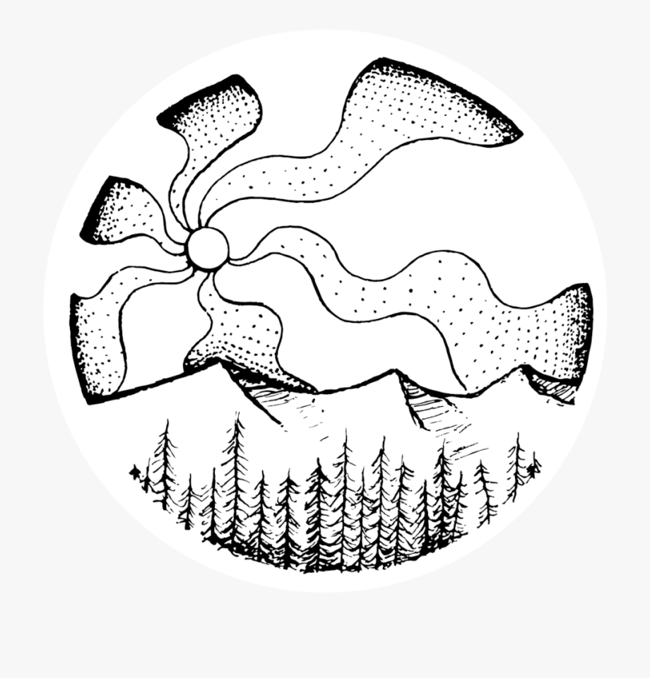 Trail clipart summit mountain. Sunset line drawing png