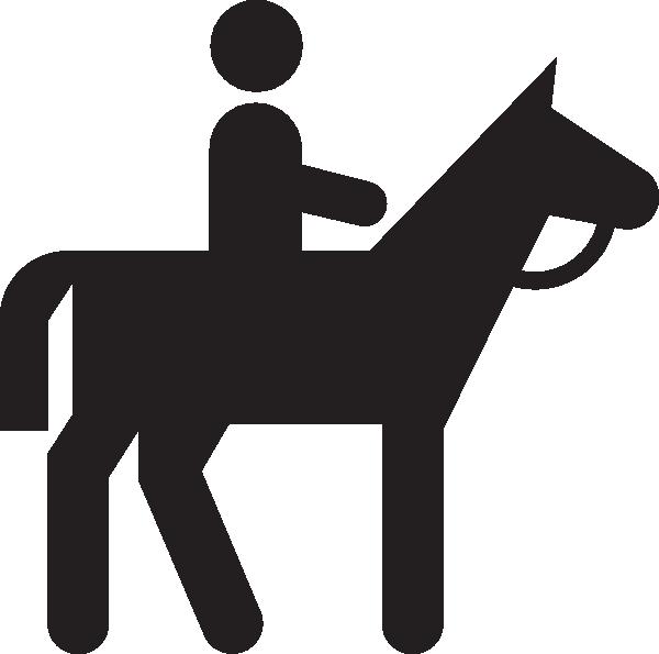 Trail clipart trail sign. Horse riding panda free