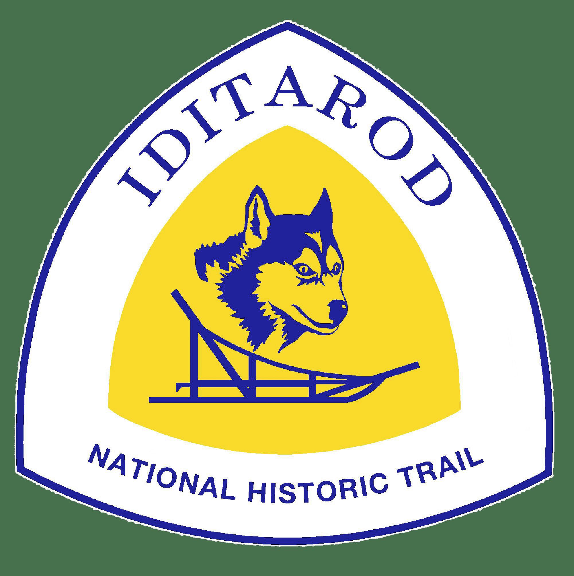 Trail clipart transparent. Iditarod national historic logo
