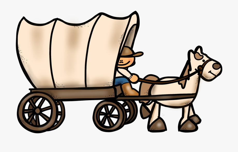 Cliparts . Wagon clipart wagon oregon trail