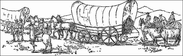 Free oregon trail cliparts. Wagon clipart history