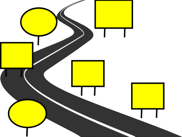Pathway outline free on. Trail clipart zigzag road