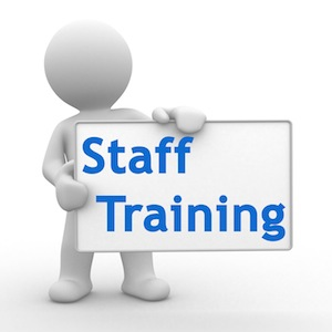 Training clipart. Staff