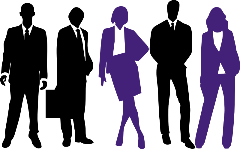 Business women medium image. Working clipart workplace