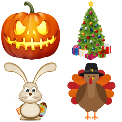 Free transparent png images. Background clipart holiday