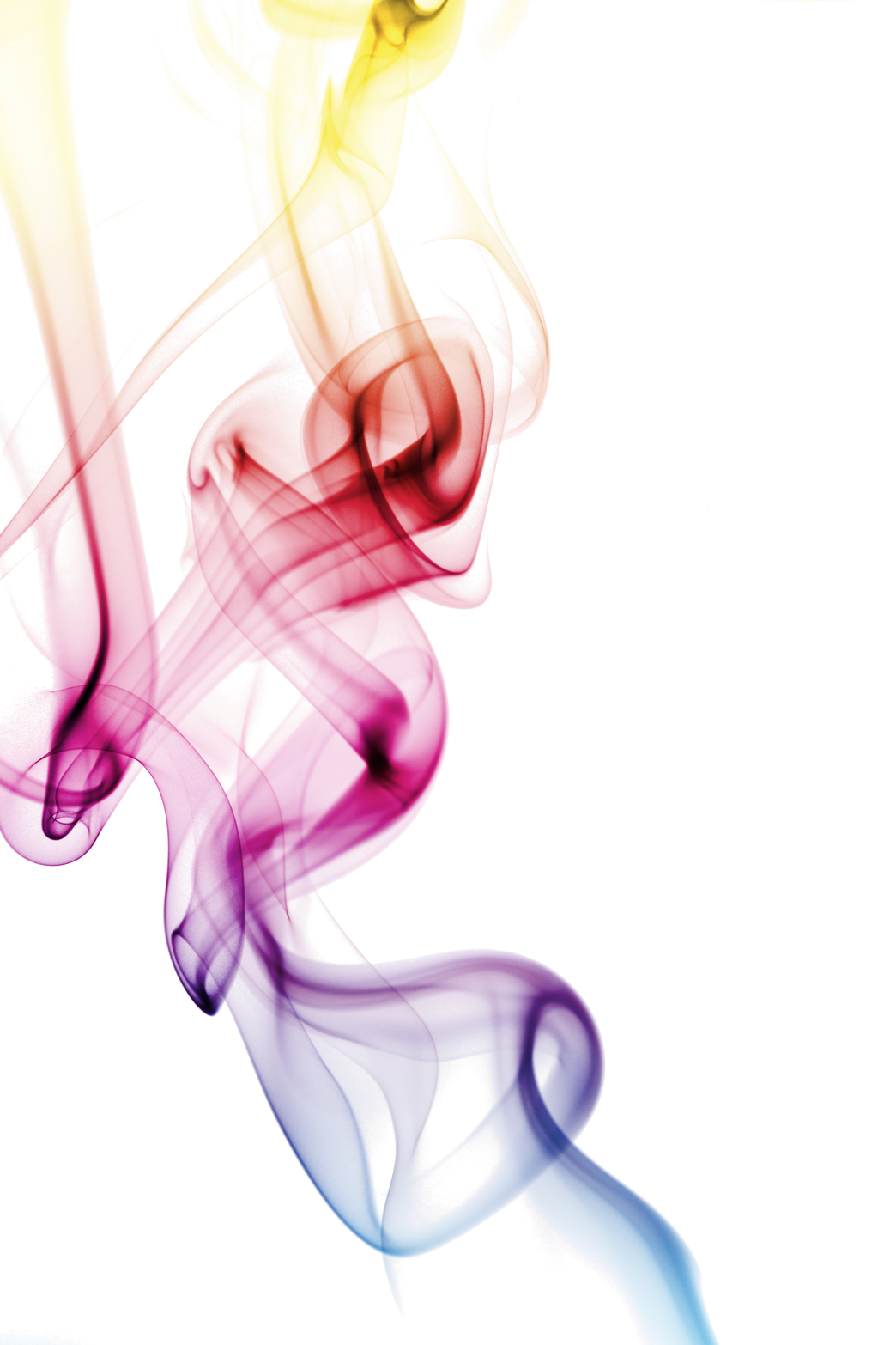 Transparent smoke png. Colorful image best stock