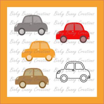 Transportation clipart 10 car. Cars clip art colors