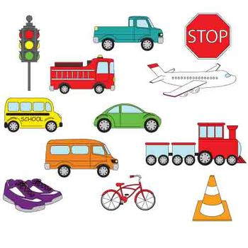 Transportation clipart. Clip art by kindergarten