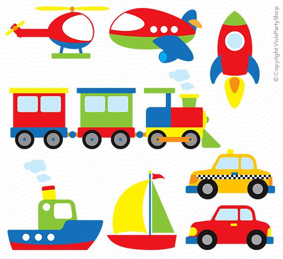 Printable instant download png. Transportation clipart