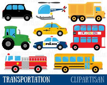 Vehicles clip art . Transportation clipart