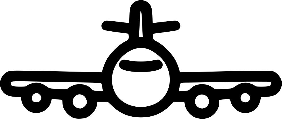 Plane air travel aircraft. Transportation clipart airplane symbol