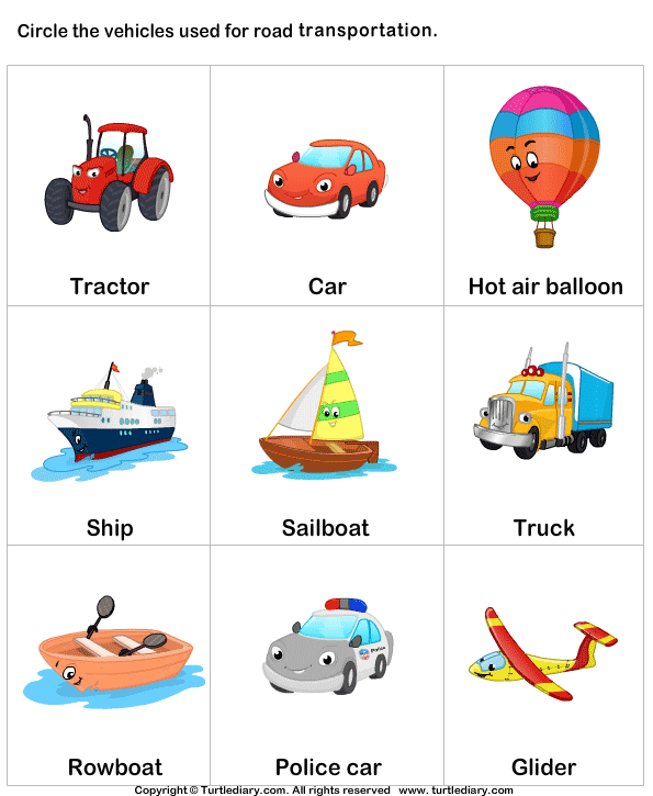 Different modes of transport. Transportation clipart mode transportation