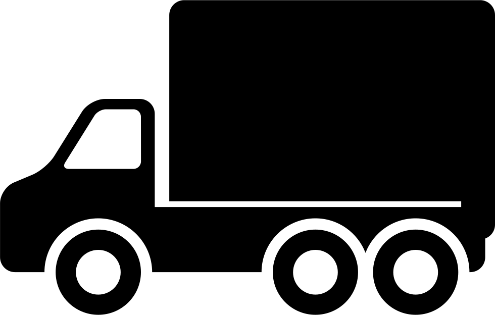 Side view pointing to. Truck icon png