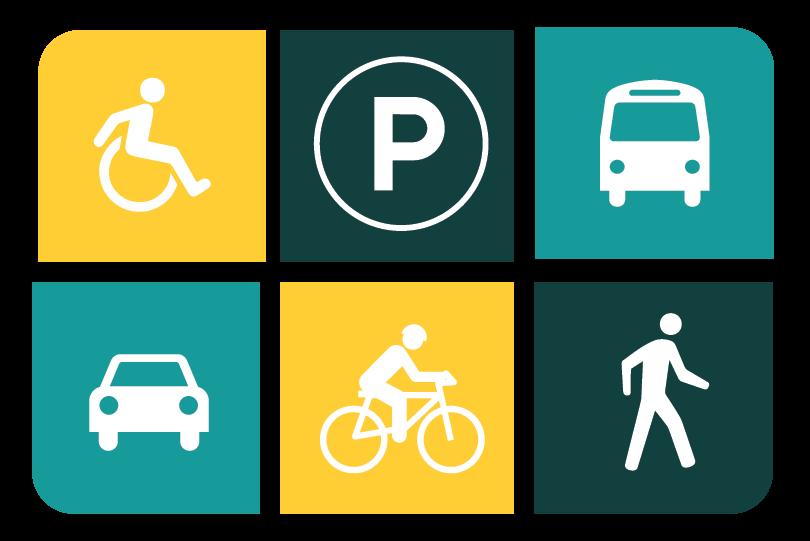 Fayetteville mobility report stresses. Transportation clipart urban transport