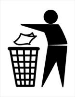 Garbage clipart. Free recycling and trash