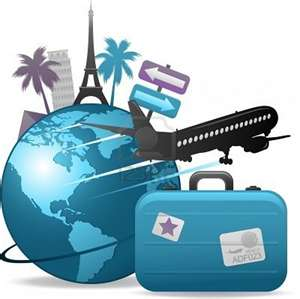 Clip art for free. Luggage clipart travel globe
