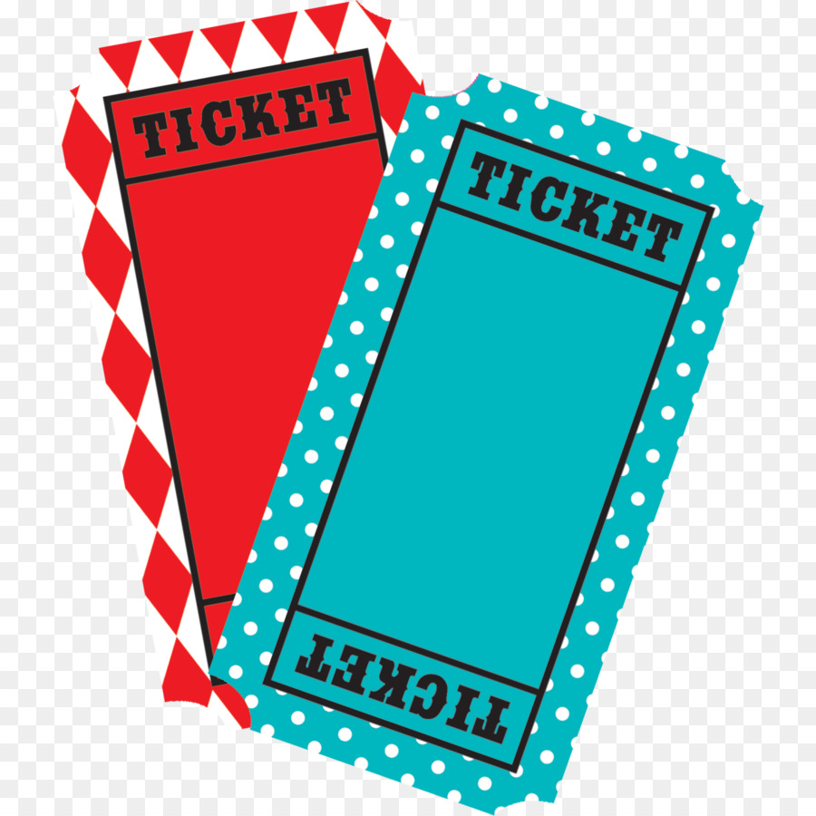 Airline ticket traveling raffle. Carnival clipart line