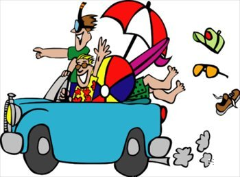 To florida . Traveling clipart