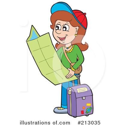 Illustration by visekart royaltyfree. Traveling clipart