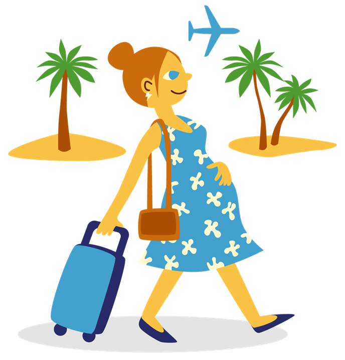 Travelling when pregnant city. Vaccine clipart encephalitis