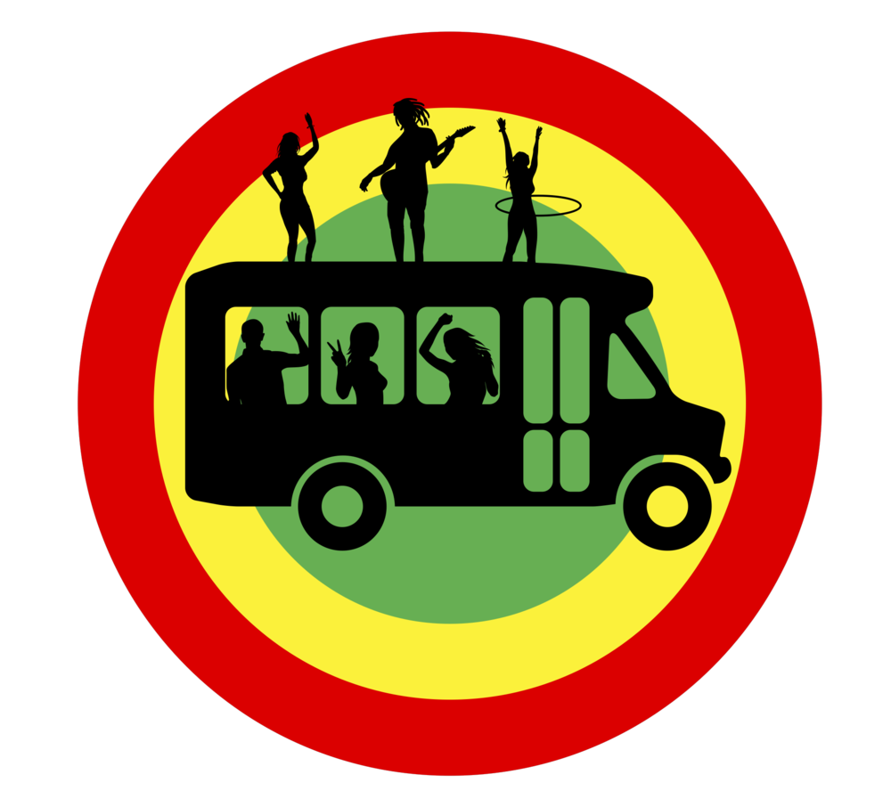 Traveling clipart charter bus. Rastabus well take you