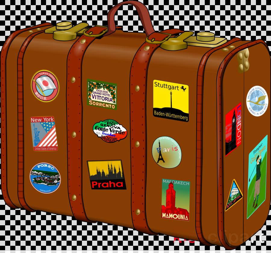 Traveling clipart travel suitcase. Hd transparent image bag