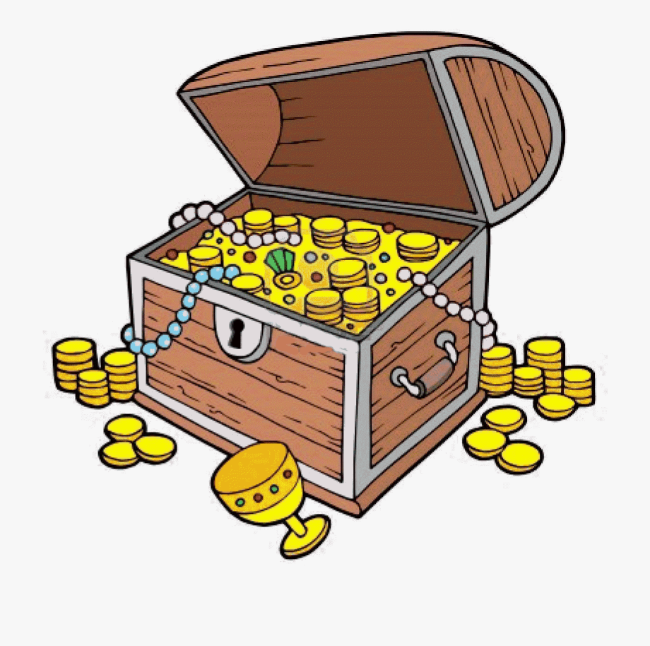 Treasure chest clip art. Boxes clipart tresure