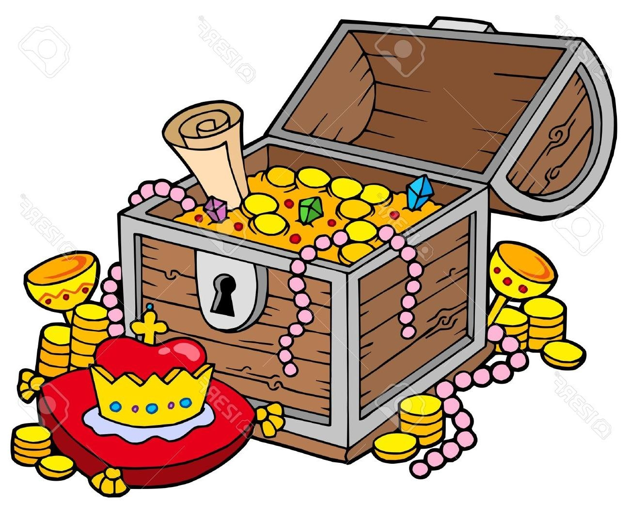 Treasure clipart. Awesome collection digital coloring