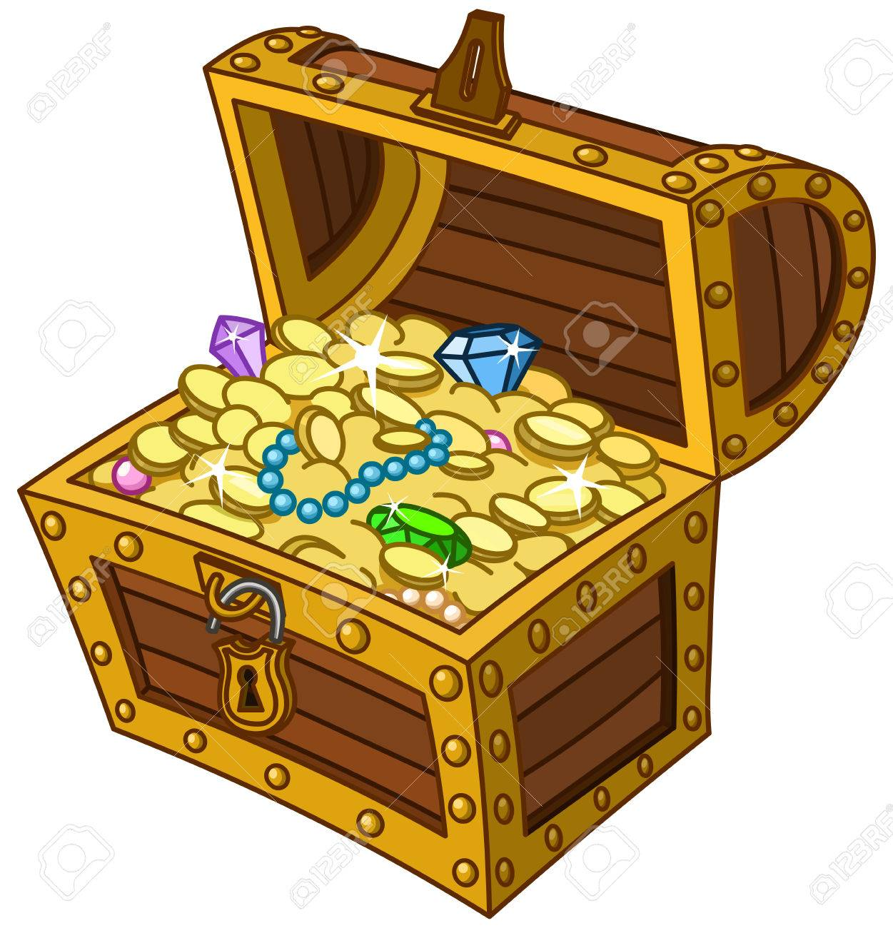 Impressive pictures of treasure. Boxes clipart tresure