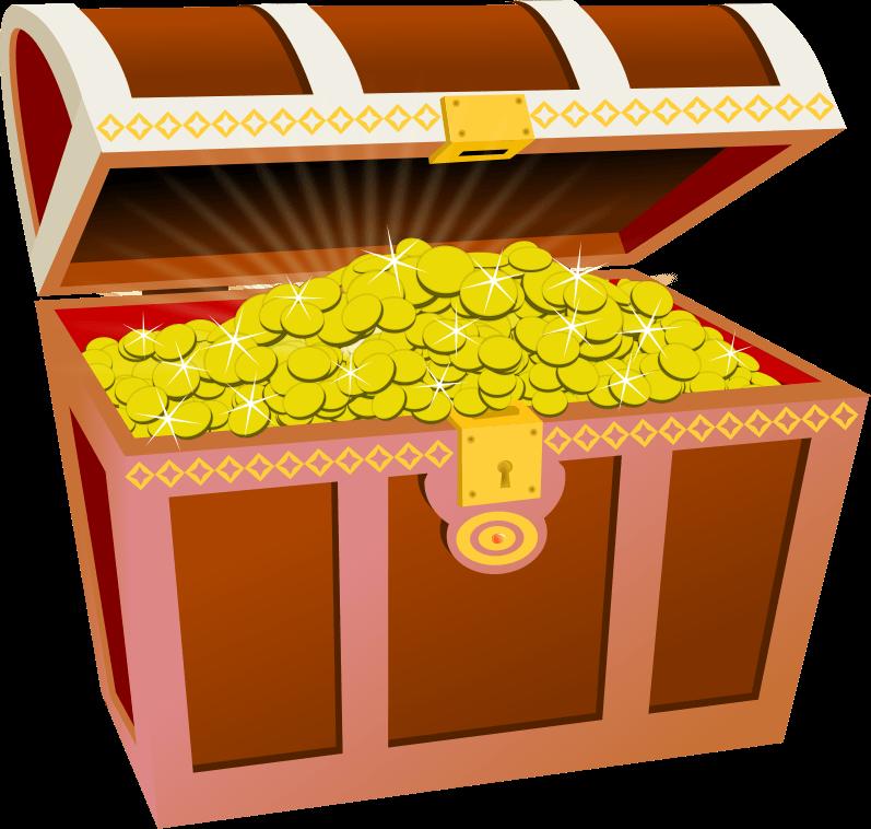 Treasure clipart animated. Cliparts zone