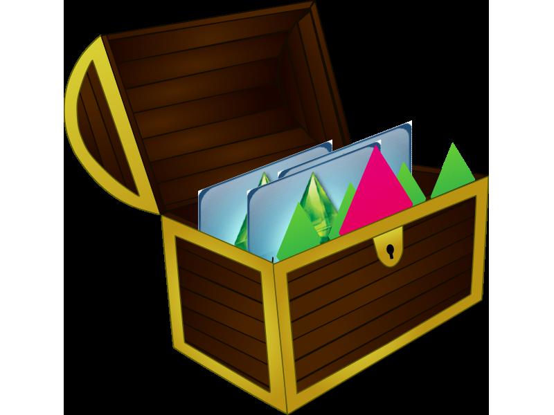 treasure clipart baul #146693183