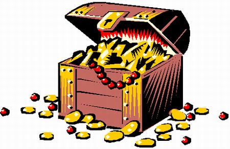 Treasure clipart buried treasure. Legend trippers of america