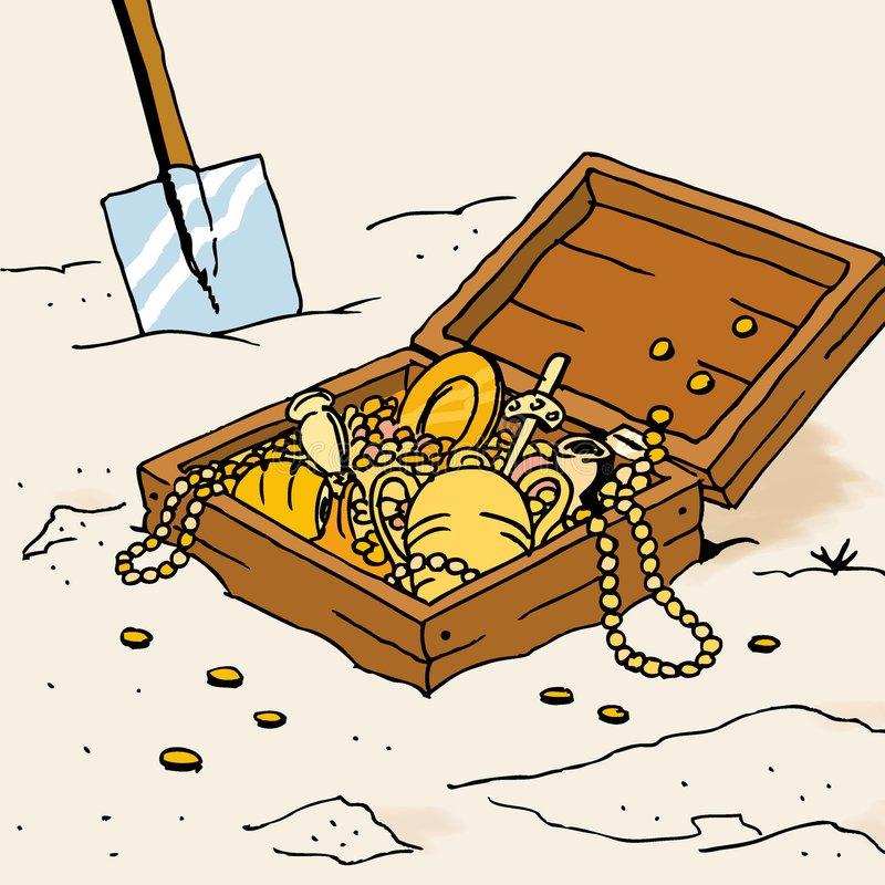 Portal . Treasure clipart buried treasure