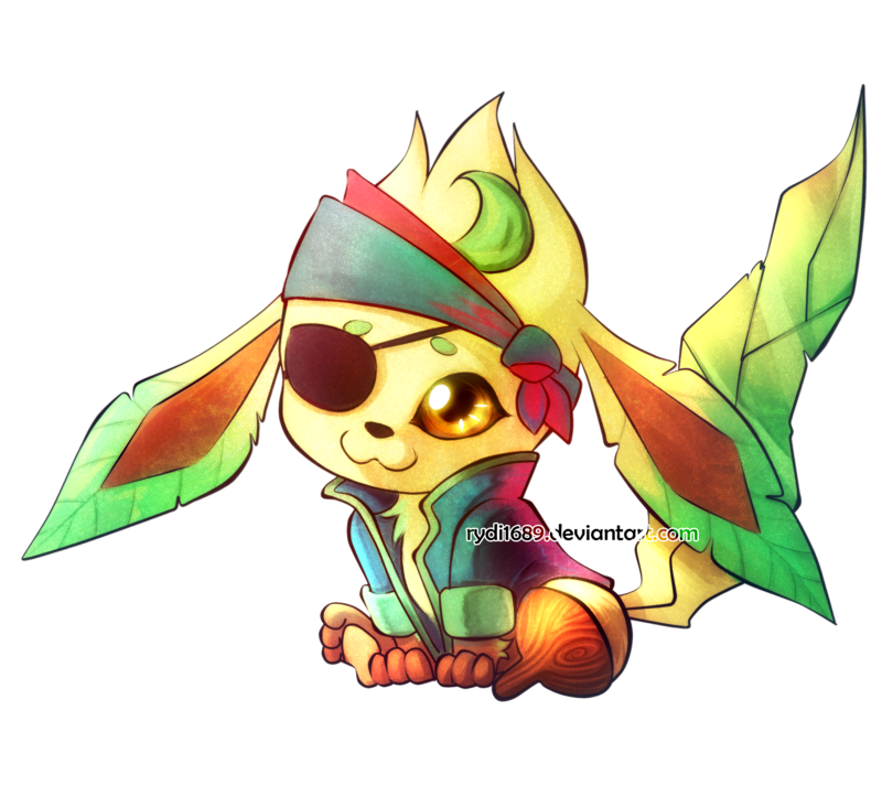 Pirate leafeon buried charity. Treasure clipart burried