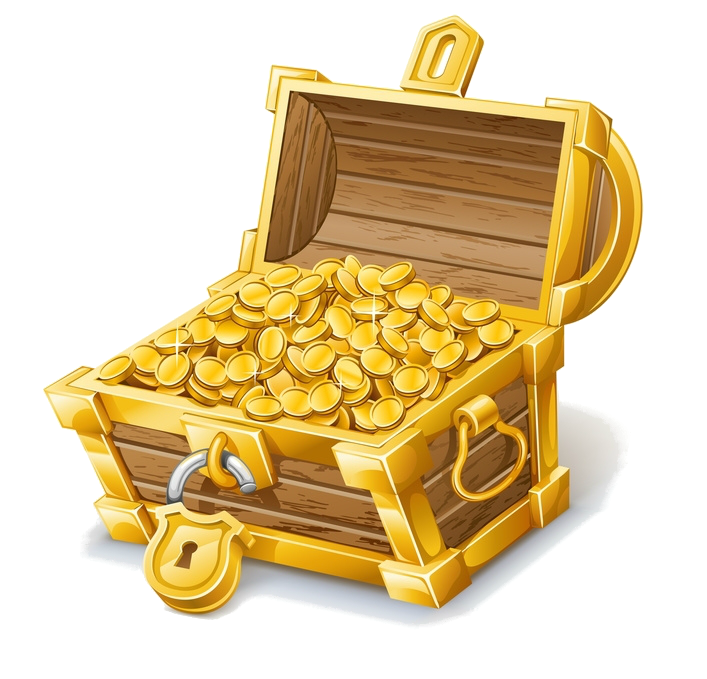 Treasure clipart burried. Buried clip art tresor