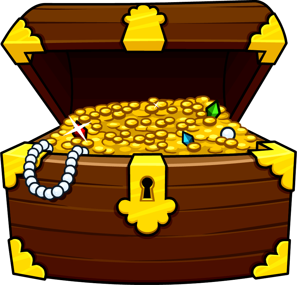 Chest png alternative design. Treasure clipart burried