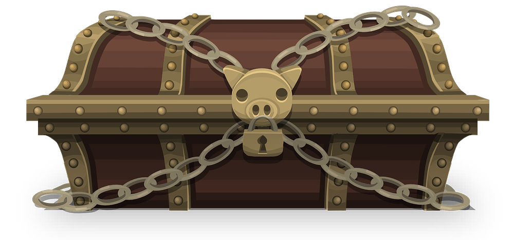 Treasure clipart chestclip art. Free locked chest clip