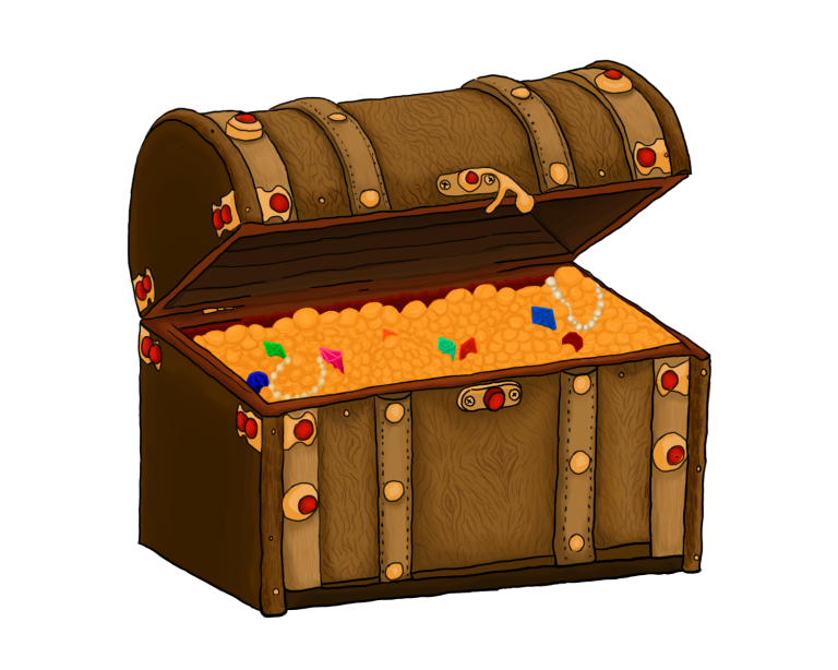 Chestschulfrei books. Treasure clipart community chest