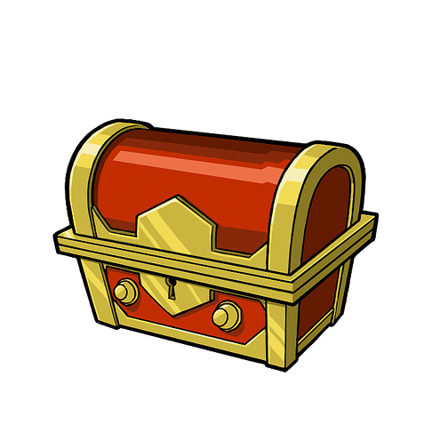Chest kid clipartandscrap . Treasure clipart cute