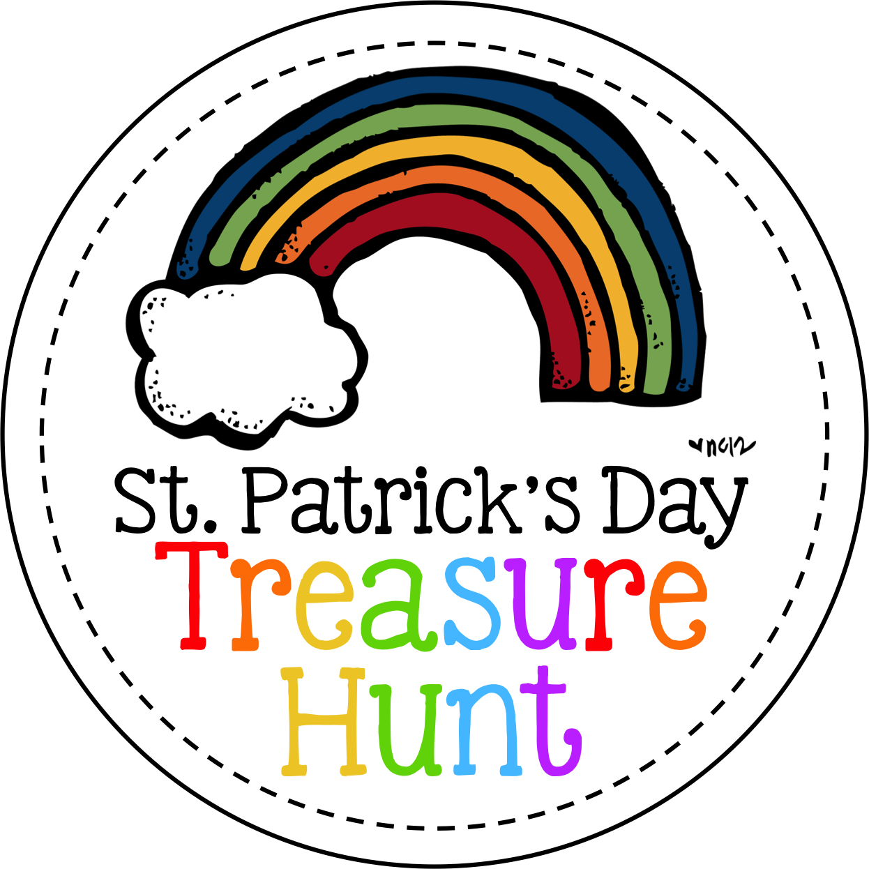 St pat s hunt. Treasure clipart drawing
