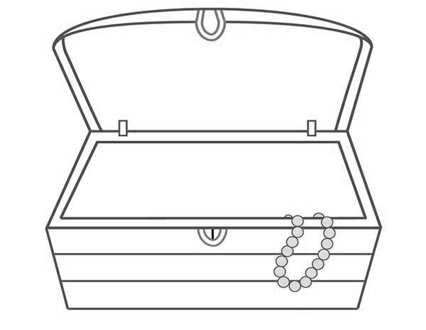 Treasure clipart empty. An chest and a