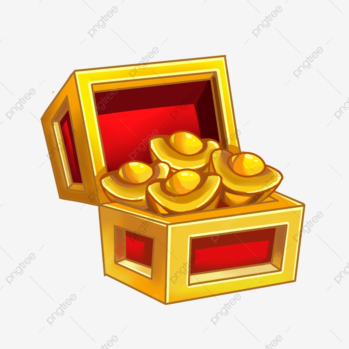 Gold and silver jewelry. Treasure clipart heap