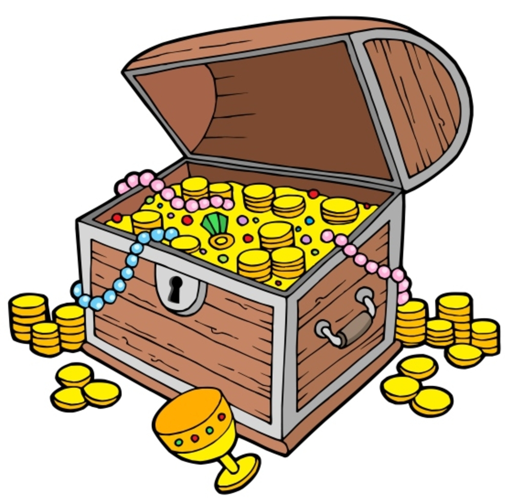 The piper . Treasure clipart hidden treasure