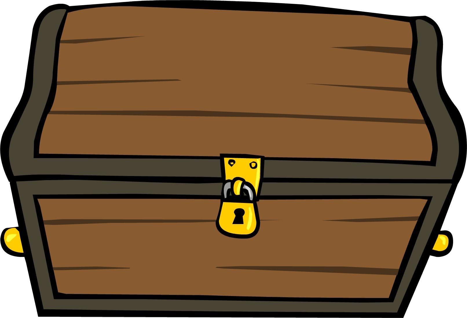 Treasure clipart locked box. Chest with lock free