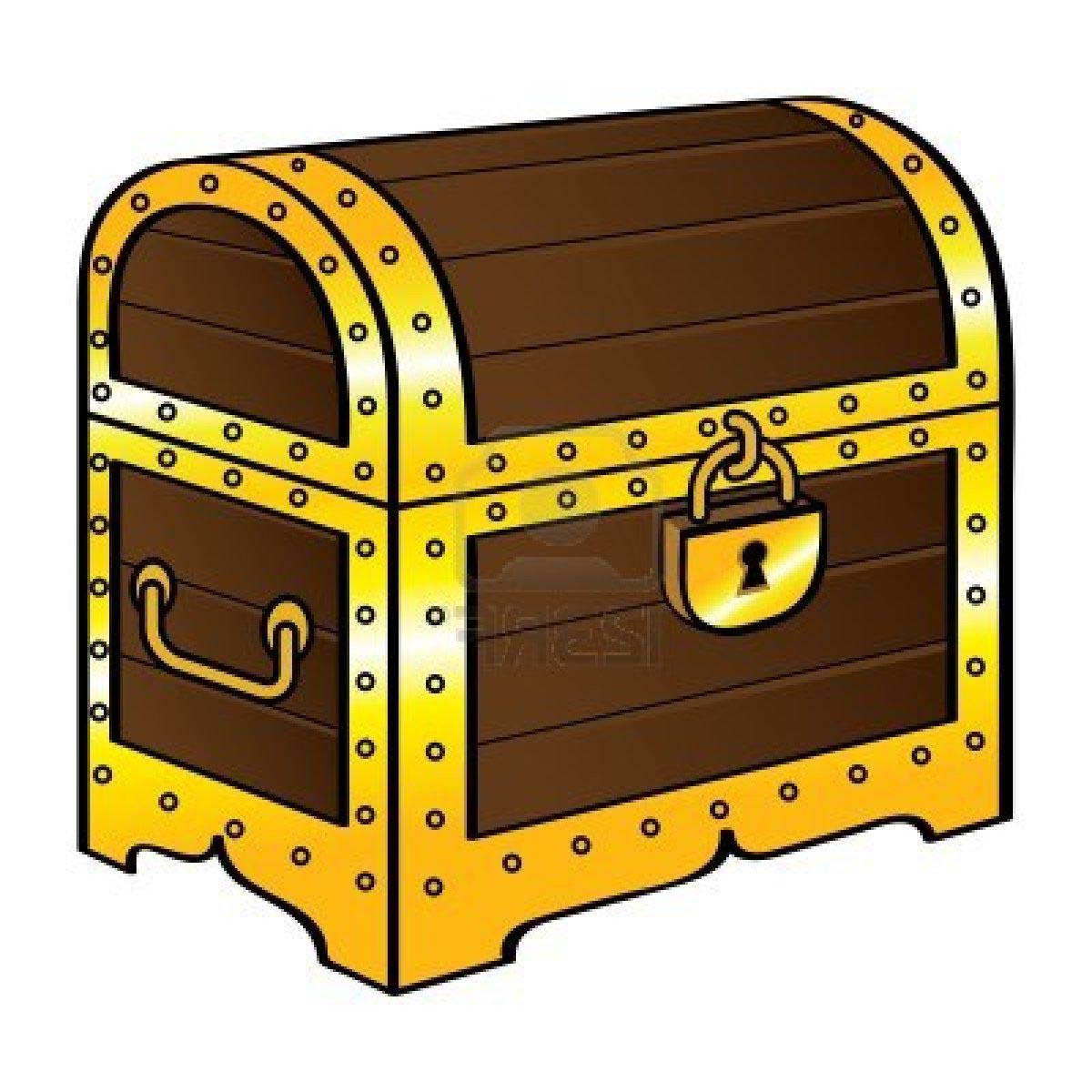 Chest clip art free. Treasure clipart locked box