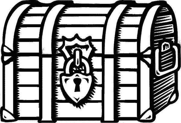 Treasure clipart locked box. Pin on bible journaling