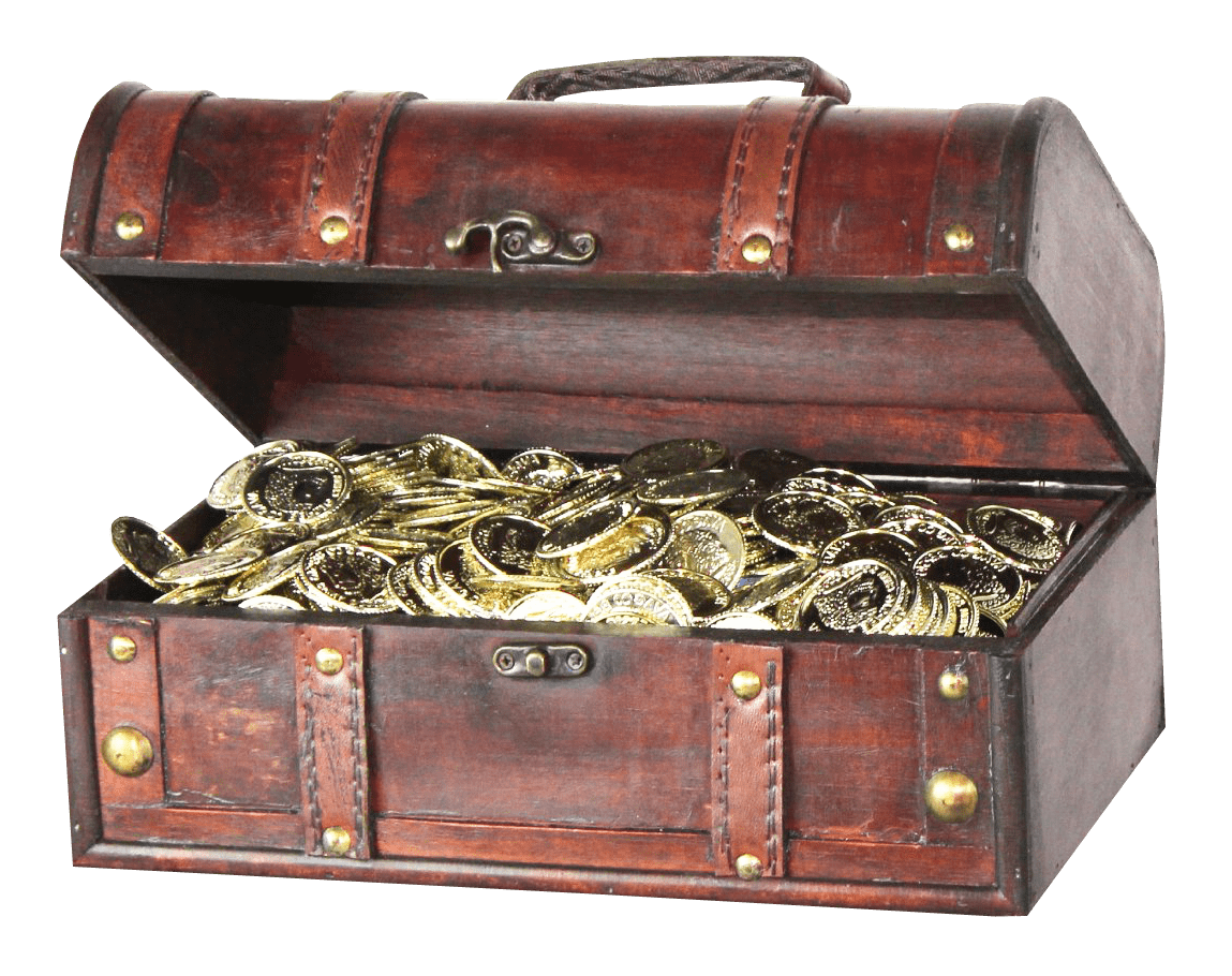 Treasure clipart old chest. Tiny transparent png stickpng