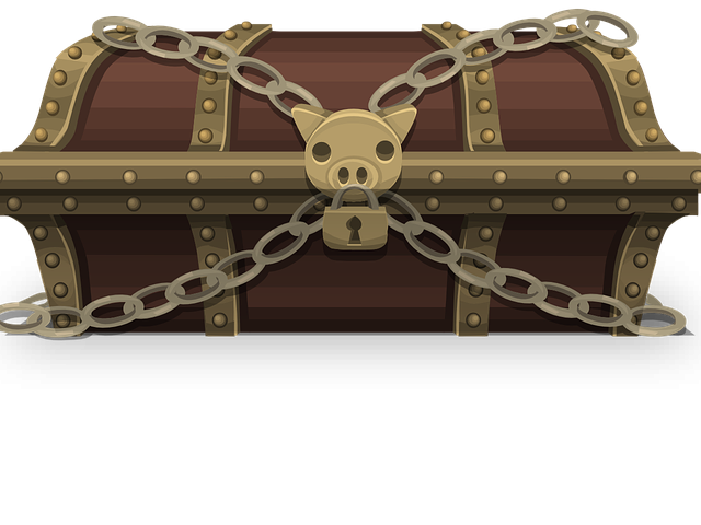 Free download clip art. Treasure clipart old chest