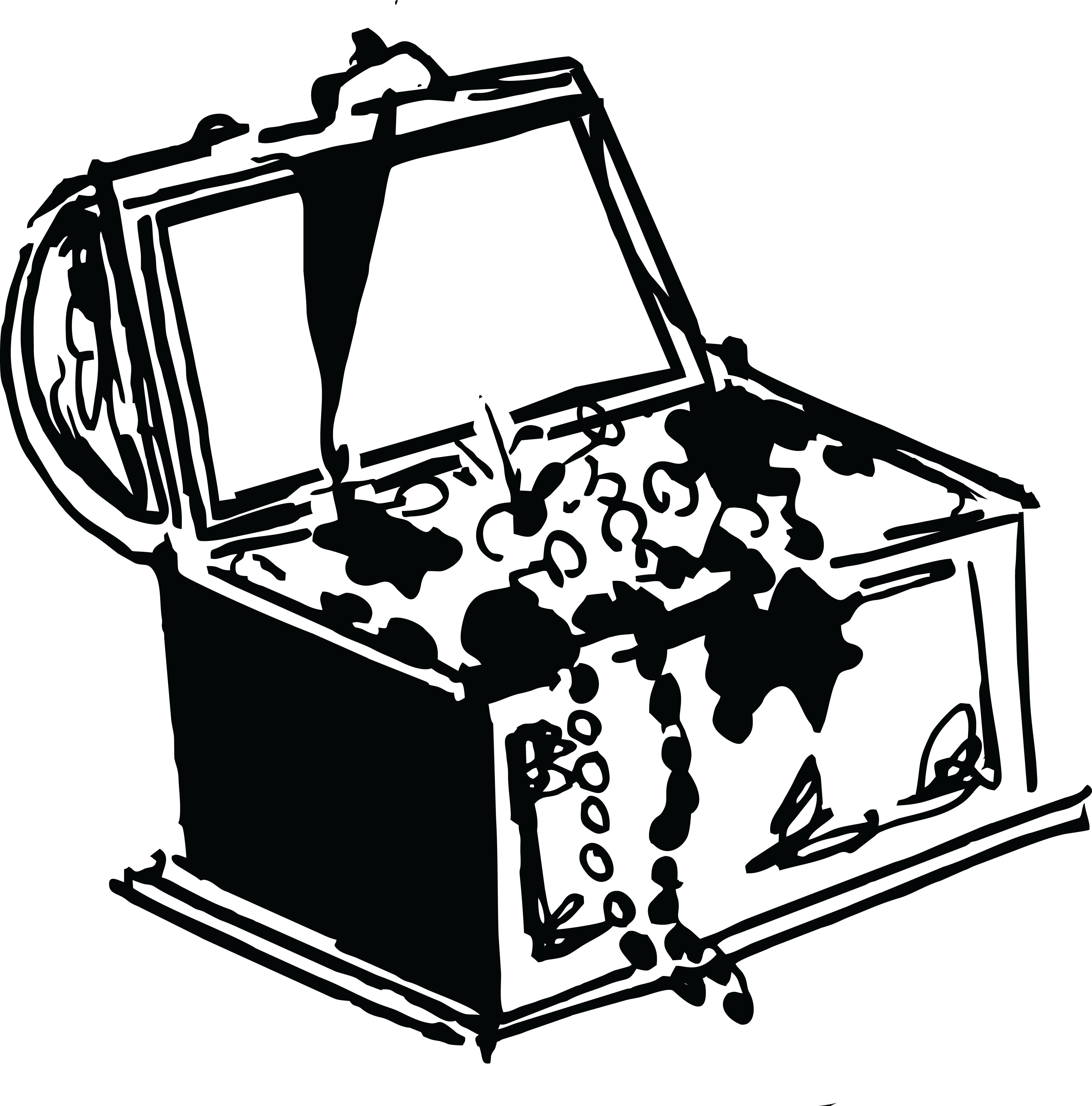 collection of chest. Treasure clipart outline